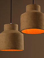 Retro Industrial Cement Chandelier Loft Nordic Creative Personality Cafe Bar Restaurant American Country  Lighting