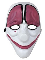 Plastikspielthema Party Festival Clown-Maske