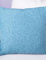 Lin Housse de coussin,Texturé Traditionnel