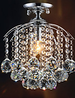 Max 60W Contemprâneo Cristal / Estilo Mini Galvanizar Metal Montagem do FluxoSala de Estar / Quarto / Sala de Jantar / Quarto de