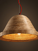 LOFT Modern Fashion Nordic Art Simple Creative Wood Pendant Lamp Bar Cafe Lamp Restaurant Pendant Light