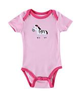 Girl's Pink Overall & Jumpsuit,Cartoon Cotton Summer