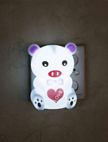 Creative Warm White Pig Relating to Baby Sleep Night Light