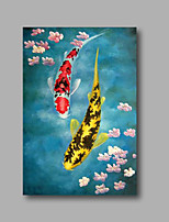 Stretched (ready  to hang) Hand-Painted Oil Painting on Canvas 36