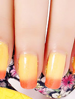 Ekbas Yellow and Orange Color Gradient Nail Glue 16ML Nail Polish