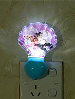 Creative Natural White Shell Light Sensor Relating to Baby Sleep Night Light(Assorted Color)