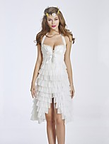 YUIYE® Hot Sale Black White Waist Training Corset Bustier Corset Dress Sexy Lingerie Skirts S-2XL