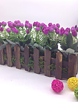 30cm High Quality Artificial Flower Roses  Stockade Artificial Flower Emboitement Tabletop Flower
