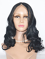 Natural Black Body Wave Human Hair Wigs For Black Women High quality Body Wave Full Lace Wigs