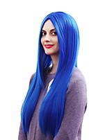 parrucca sintetica dei capelli delle donne cosplay lunga diritta