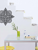 9483 Indian Namaste Words Religion Wall Decal Vinyl Lotus Yoga Sticker Buddha Ganesha Home Decor Bedroom Flower Mural