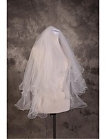 Wedding Veil Two-tier Elbow Veils Cut Edge / Pencil Edge