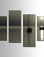 Paesaggio Print Canvas Quattro Pannelli Pronto da appendere,ogni Forma