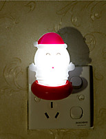 Creative Warm White Santa Claus Relating to Baby Sleep Night Light