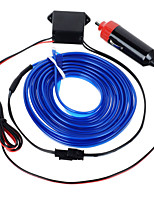 exled 12v 5w lumière atmosphère conduit / voiture lampe décorative avec la lumière bleue