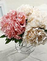 Silk Peonies Artificial Flowers Wedding Flowers Multicolor Optional 1pc/set