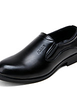 Men's Shoes Office & Career / Party & Evening / Casual PU Oxfords Black