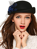 Women Wool Beret Hat,Vintage / Cute / Party / Work / Casual Spring / Summer / Fall / Winter / All Seasons
