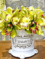 High Quality Artificial Orchids Flower  Simulation Flower Simulation Artificial Flower for Wedding Home Decoration