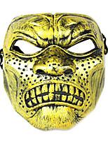 halloween Schutz Wut Gesichtsmaske schwarz golden