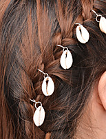 Alloy Hair Ties Daily / Casual 5pcs