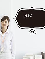 Caricatura / Romance / Pizarra / De moda / Día Festivo / Paisaje / Formas / Fantasía Pegatinas de pared Adhesivos de Pared Negros,PVC77cm