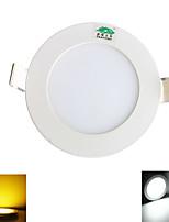 4W Plafonniers 20 SMD 2835 380 lumens lm Blanc Chaud / Blanc Naturel Décorative AC 85-265 V 1 pièce