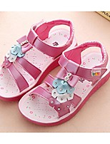 Girls' Shoes Dress Open Toe Sandals Pink / White / Fuchsia