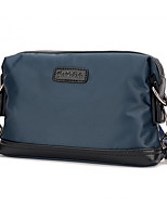 Men Nylon Messenger Shoulder Bag / Satchel-Blue / Black