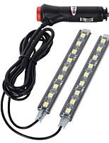 exled 10w 12v voiture 18 LED lumière décorative éclairage intérieur blanc froid