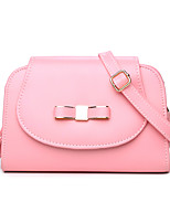 Women PU Baguette Shoulder Bag-White / Pink / Brown / Black
