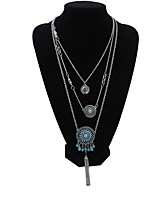 Multilayer Indian Retro Hot Sale Designer Jewelry Summer Style Sunflower Pendants Necklaces
