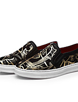 Men's Shoes Office & Career / Party & Evening / Athletic / Dress / Casual Synthetic Loafers Big Size Black/Red /Gold