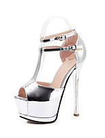 Women's Shoes Patent Leather Stiletto Heel Heels / Peep Toe / Platform / Open Toe SandalsWedding /  Party & Evening /