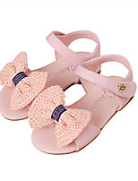 Girls' Shoes Dress Casual Comfort  Open Toe Leather Sandals  Flats More Colors Available