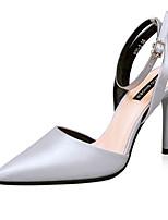 Chaussures Femme-Décontracté-Noir / Vert / Rose / Violet / Gris / Or / Corail-Gros Talon-Talons-Talons-Laine synthétique