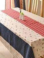 dessin animé modèle nappe mode hotsale de haute qualité draps en coton table basse carrée couverture en tissu éponge