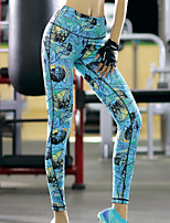 Women Yoga Sports Pants Elastic Wicking Tights Female Sports Elastic Fitness Running Trousers Slim Leggings