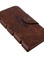 Fashion Men's Rock Wallet Bifold Leather Long Wallets