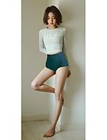 Women Diving Suit UV Swimsuit Bikini Conjoined Sun-protective Swimwear Jellyfish Long-sleeve Wetsuit Suits=Top+Pants