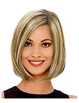 Women Multi-color Straight Synthetic Hair Wig