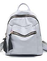 Women PU Bucket Backpack / School Bag / Travel Bag-Pink / Blue / Gray / Black