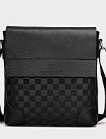 Men PU Messenger Shoulder Bag / Satchel-Brown / Black / Khaki