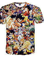 Disfraces Cosplay-Dragon Ball- deSon Goku-T-Shirt-