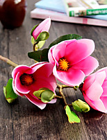 Silk Magnolia Artificial Flowers Wedding Flowers 1pc/set