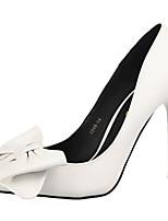 Chaussures Femme-Décontracté-Noir / Jaune / Rose / Rouge / Beige-Talon Aiguille-Talons-Talons-PU