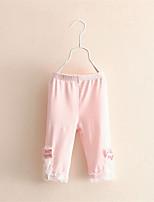 Hot Selling 2016 Flower Girl Pants Baby Girl Leggings Kids Cotton Fashion Legging Children Autumn Pant Girls' Leggings