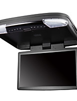 15.6 Inches Car Flip Down DVD Player in Black