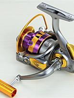 Metal  Fishing Spinning Reel 12 Ball Bearings  Exchangable Handle-HB3000
