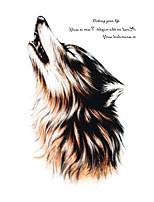 Body Art Beauty Makeup Cool Wolf Wolfing Waterproof Temporary Tattoo Stickers Sexy
